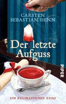 Carsten Sebastian Henn: Der letzte Aufguss, Buch