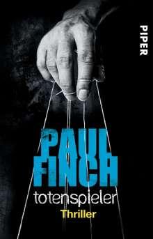 Paul Finch: Totenspieler, Buch