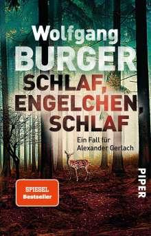 Wolfgang Burger: Schlaf, Engelchen, schlaf, Buch