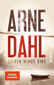 Arne Dahl: Sieben minus eins, Buch