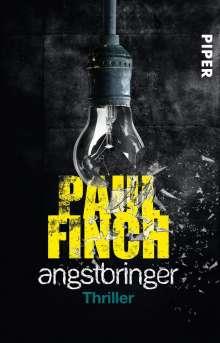 Paul Finch: Angstbringer, Buch