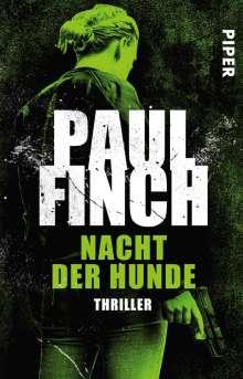 Paul Finch: Nacht der Hunde, Buch
