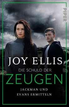 Joy Ellis: Die Schuld der Zeugen, Buch