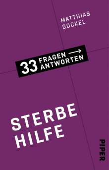 Matthias Gockel: Sterbehilfe, Buch