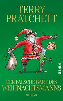 Terry Pratchett: Der falsche Bart des Weihnachtsmanns, Buch