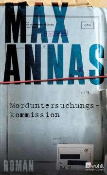 Max Annas: Morduntersuchungskommission, Buch