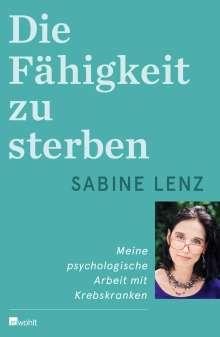Sabine Lenz: Die Fähigkeit zu sterben, Buch