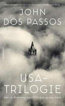 John Dos Passos: USA-Trilogie, Buch