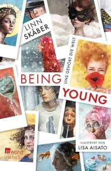 Linn Skåber: Being Young, Buch