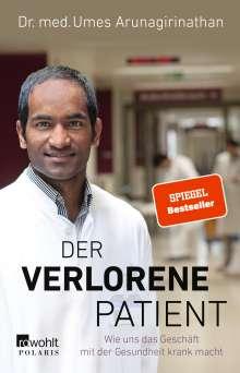 Umes Arunagirinathan: Der verlorene Patient, Buch