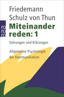 Friedemann Schulz von Thun: Miteinander reden 1, Buch