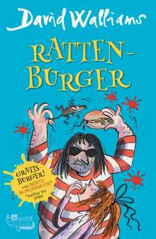 David Walliams: Ratten-Burger, Buch