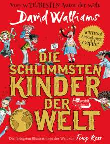 David Walliams: Die schlimmsten Kinder der Welt, Buch