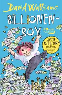 David Walliams: Billionen-Boy, Buch