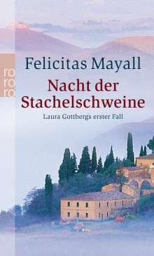 Felicitas Mayall: Nacht der Stachelschweine, Buch