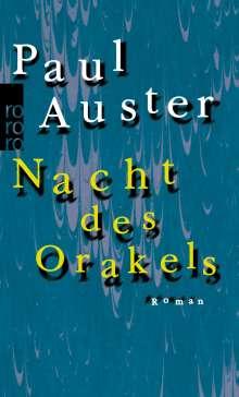 Paul Auster: Nacht des Orakels, Buch