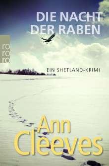 Ann Cleeves: Die Nacht der Raben, Buch