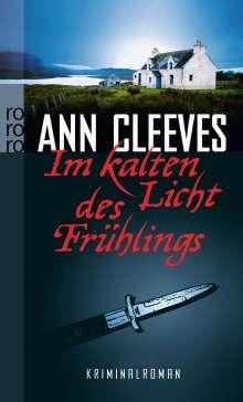 Ann Cleeves: Im kalten Licht des Frühlings, Buch