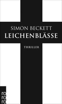 Simon Beckett: Leichenblässe, Buch