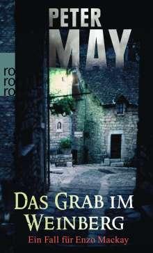 Peter May: Das Grab im Weinberg, Buch