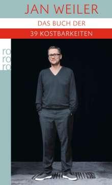Jan Weiler: Das Buch der neununddreißig Kostbarkeiten, Buch