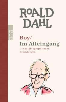 Roald Dahl: Boy / Im Alleingang, Buch