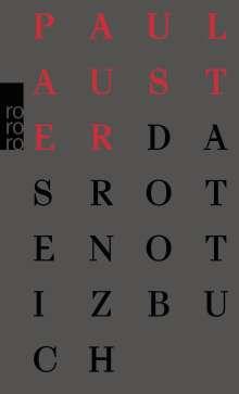Paul Auster: Das rote Notizbuch, Buch