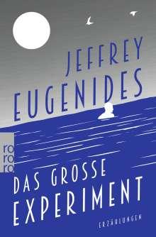 Jeffrey Eugenides: Das große Experiment, Buch