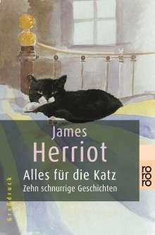 James Herriot: Alles für die Katz. Großdruck, Buch
