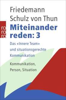 Friedemann Schulz von Thun: Miteinander reden 3, Buch