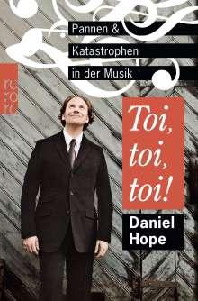 Daniel Hope: Toi, toi, toi!, Buch
