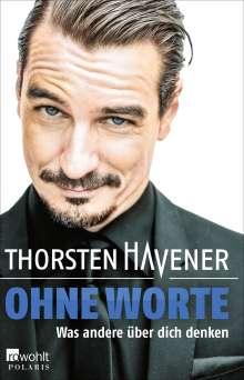 Thorsten Havener: Ohne Worte, Buch