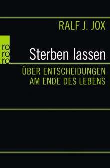 Ralf J. Jox: Sterben lassen, Buch