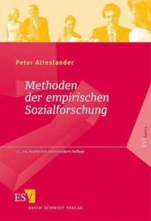 Peter Atteslander: Methoden der empirischen Sozialforschung, Buch