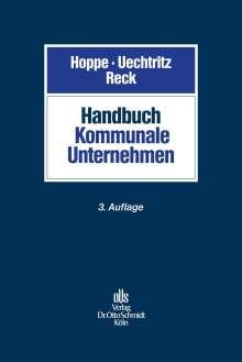 Handbuch Kommunale Unternehmen, Buch