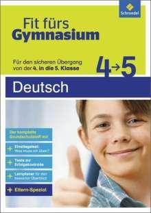 Brigitte Endres: Fit fürs Gymnasium. Übergang 4 / 5 Deutsch, Buch
