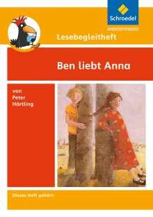 Peter Härtling: Ben liebt Anna. Lesebegleitheft, Buch