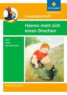 Michael Kirch: Hanno malt sich einen Drachen. Lesebegleitheft, Buch
