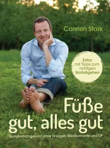 Carsten Stark: Füße gut, alles gut, Buch