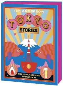 Tim Anderson: Tokyo, Buch