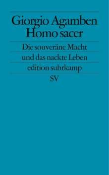 Giorgio Agamben: Homo sacer, Buch