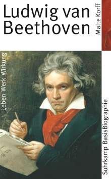 Malte Korff: Ludwig van Beethoven, Buch