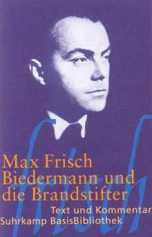 Max Frisch: Biedermann und die Brandstifter, Buch