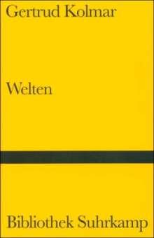 Gertrud Kolmar: Welten, Buch