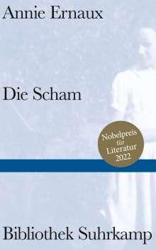 Annie Ernaux: Die Scham, Buch