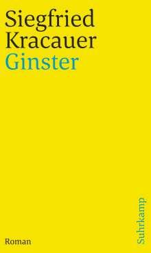Siegfried Kracauer: Ginster, Buch