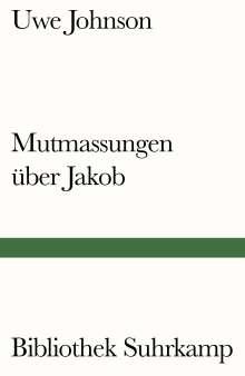 Uwe Johnson: Mutmassungen über Jakob, Buch