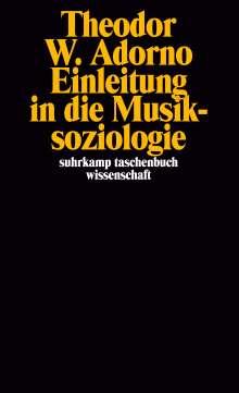 Theodor W. Adorno: Einleitung in die Musiksoziologie, Buch
