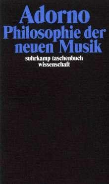 Theodor W. Adorno: Philosophie der neuen Musik, Buch
