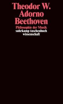 Theodor W. Adorno: Beethoven - Philosophie der Musik, Buch